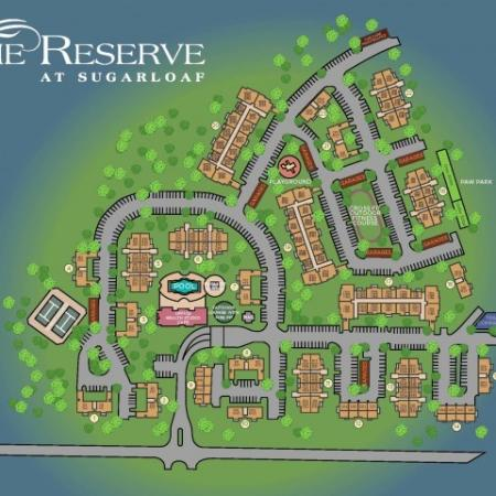 The Reserve at Sugarloaf Property Map