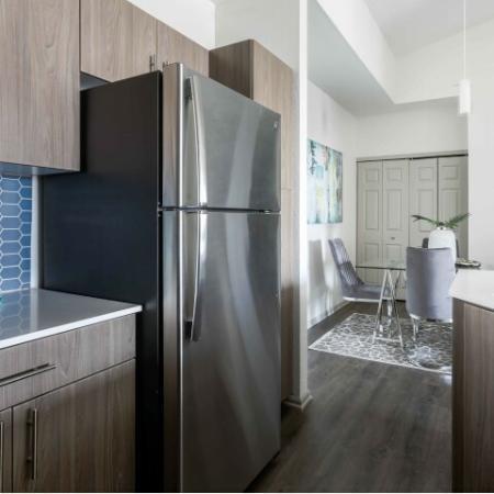 model kitchen refrigerator