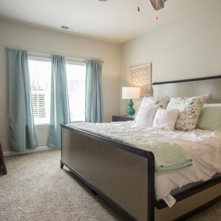 Large Master Bedroom with Tray Ceiling