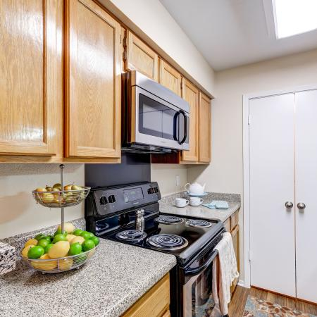 Eat In Kitchen with Stainless Steel Appliances