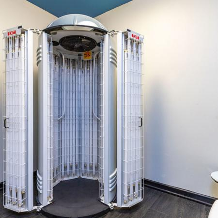 Two Tanning Beds with Provided Lotion and Eyewear