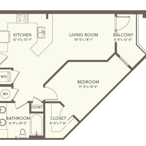 One Bedroom One Bath Nashville TN
