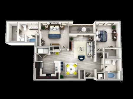 Two Bedroom in Buckhead