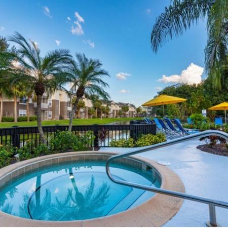 Alvista Sterling Palms outdoor lakeside spa