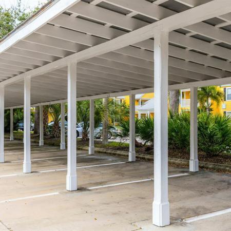 Carport parking area
