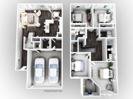 Four Bedroom Apartments in Dawsonville GA