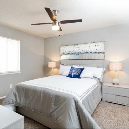 Updated master bedroom