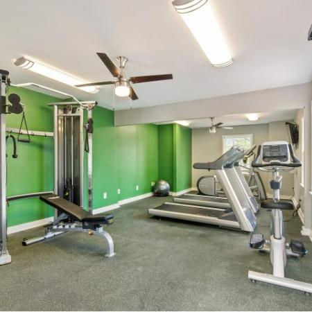 State of the art gym with updated equipment