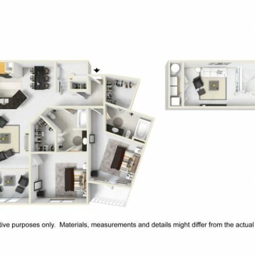 Abbey II layout with Loft