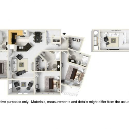 Abbey III Layout with Loft