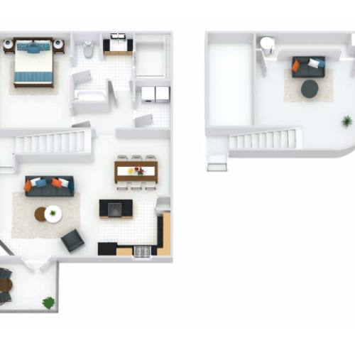 Regents Layout with Loft