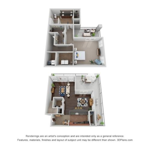 1x1.5 Penthouse- ADA availability