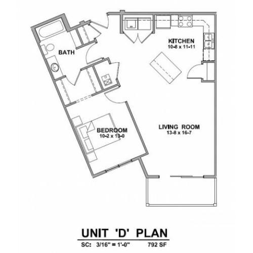 Apartments In Rapid City Sd: Studio/ 1 Bath Apartment In Rapid City SD