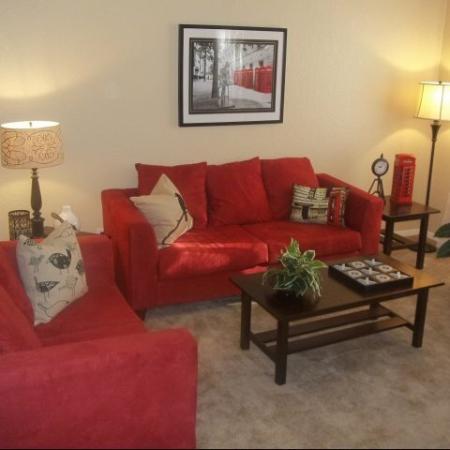 Elegant Living Room | 1 Bedroom Apartments Austin TX | Wildcreek Apartments