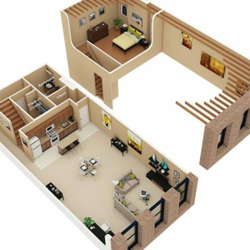 Studio 1 Bath Apartment In Chicago Il Cobbler Square