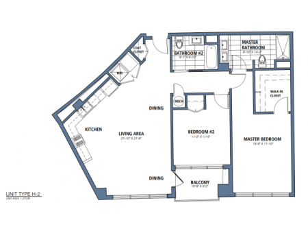 Two Bedroom, Two Bath (C6)