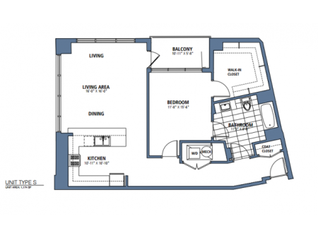 One Bedroom, One Bath (A23)