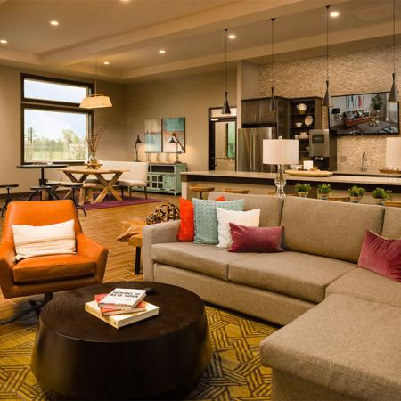 Boterra Bay - Luxury Apartments for Rent in Baytown, TX - clubhouse interior