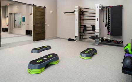 fitness center at boterra bay