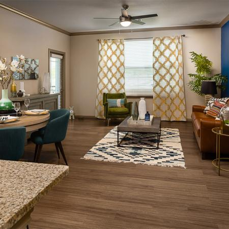 Boterra Bay - Luxury Apartments for Rent in Baytown, TX - apartment living room