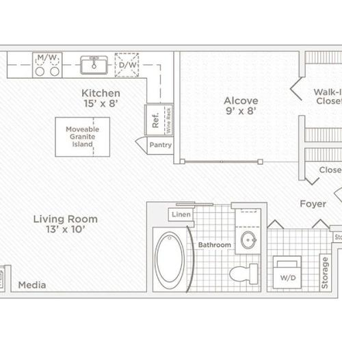 convertible V2 floor plan