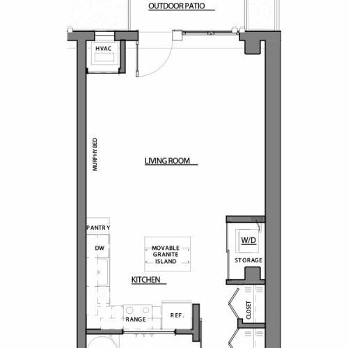 studio S2 floor plan