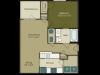 One Bedroom Floor Plan Apartment