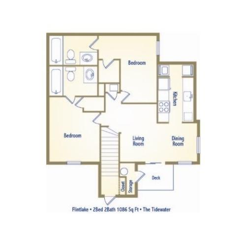 Myrtle Beach Apartments: 3 Bed / 2.5 Bath Apartment In Myrtle Beach SC
