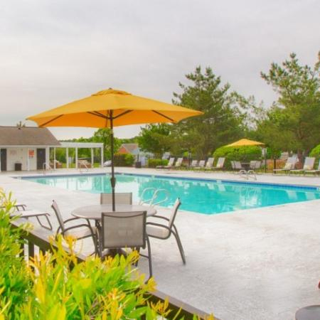 Pool at Morrisville NC apartments for rent