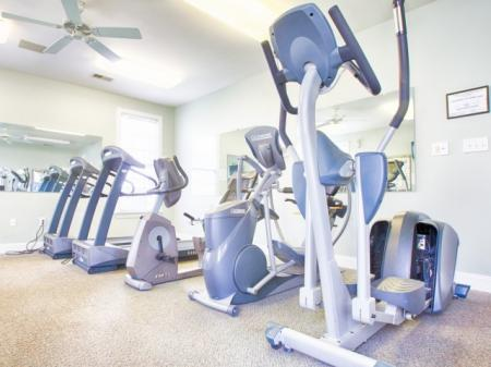 gym at Morrisville NC apartments for rent