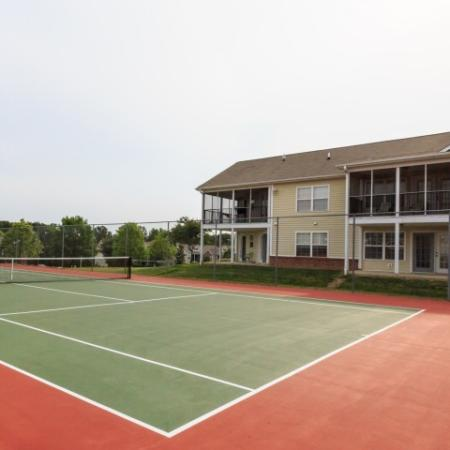 tennis at Morrisville NC apartments for rent