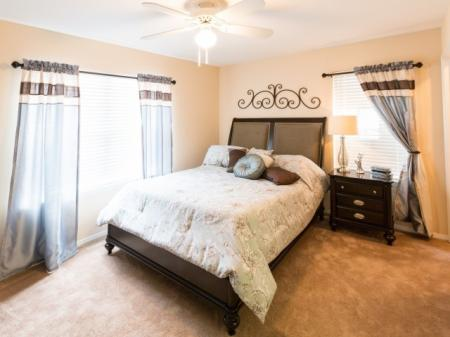 bedroom at Morrisville Apartments