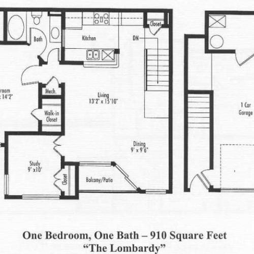 Floor Plan 1 | Pine Valley