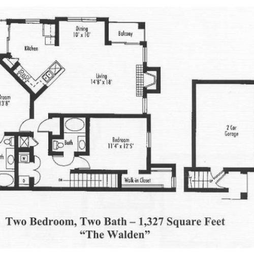 Floor Plan 6 | Pine Valley