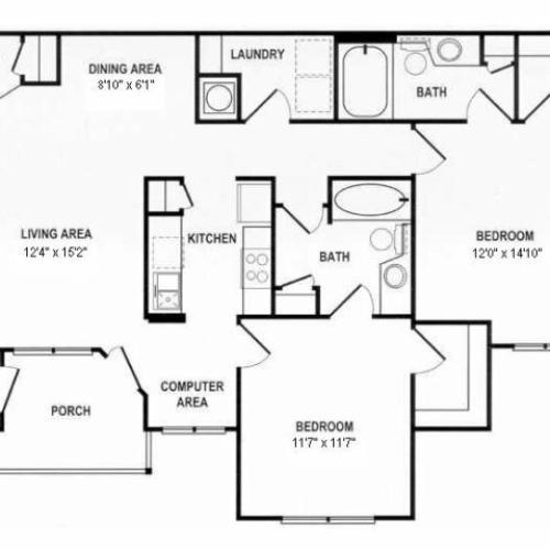 Floor Plan 2 | Spotswood Commons