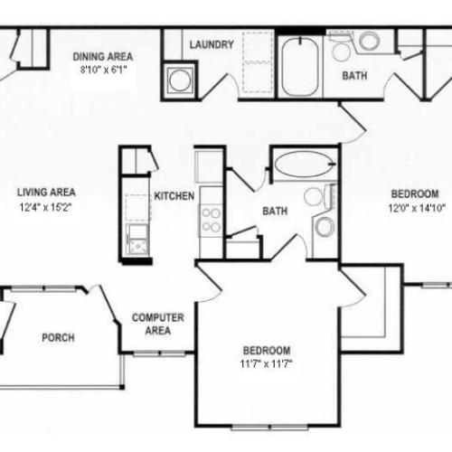 Floor Plan 2 | Spotswood Commons