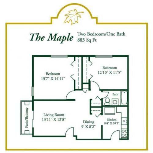 Floor Plan 3 | Woodview at Randolph