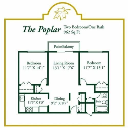 Floor Plan 4   Woodview at Randolph