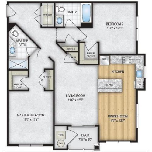 Floor Plan 8 | The Park at Winter\'s Run