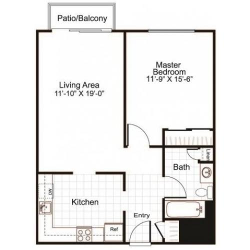 Floor Plan 2 | Greenview Village 3