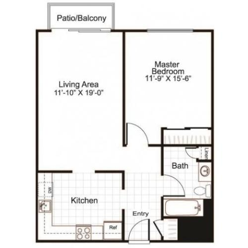 Floor Plan 2 | Greenview Village 3