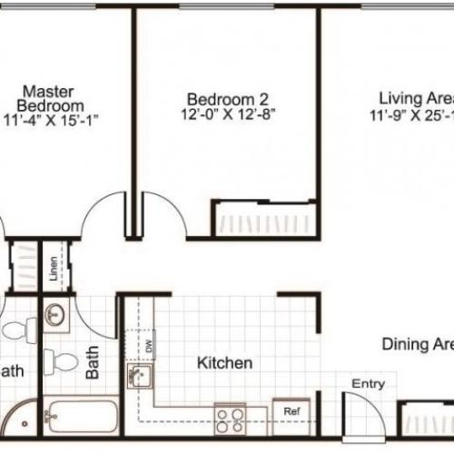 Floor Plan 3 | Greenview Village