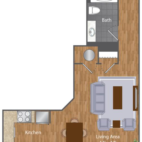 Floor Plan 1 | The Lenore