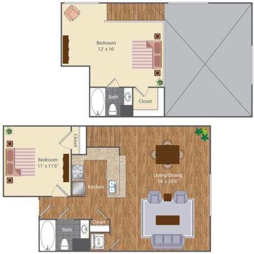 Floor Plan 24 | The Lenore