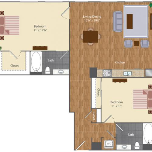 Floor Plan 26 | The Lenore