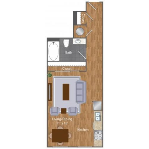Floor Plan | The Lenore