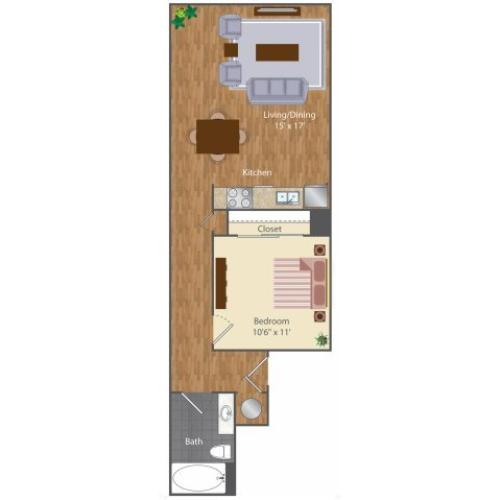 Floor Plan 2 | The Lenore