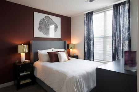 Spacious Master Bedroom | West of Chestnut