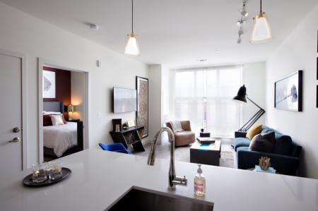 Elegant Living Area | West of Chestnut