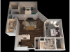 G 2 Bedroom Floor Plan   Luxury Apartments In Towson MD   The Southerly